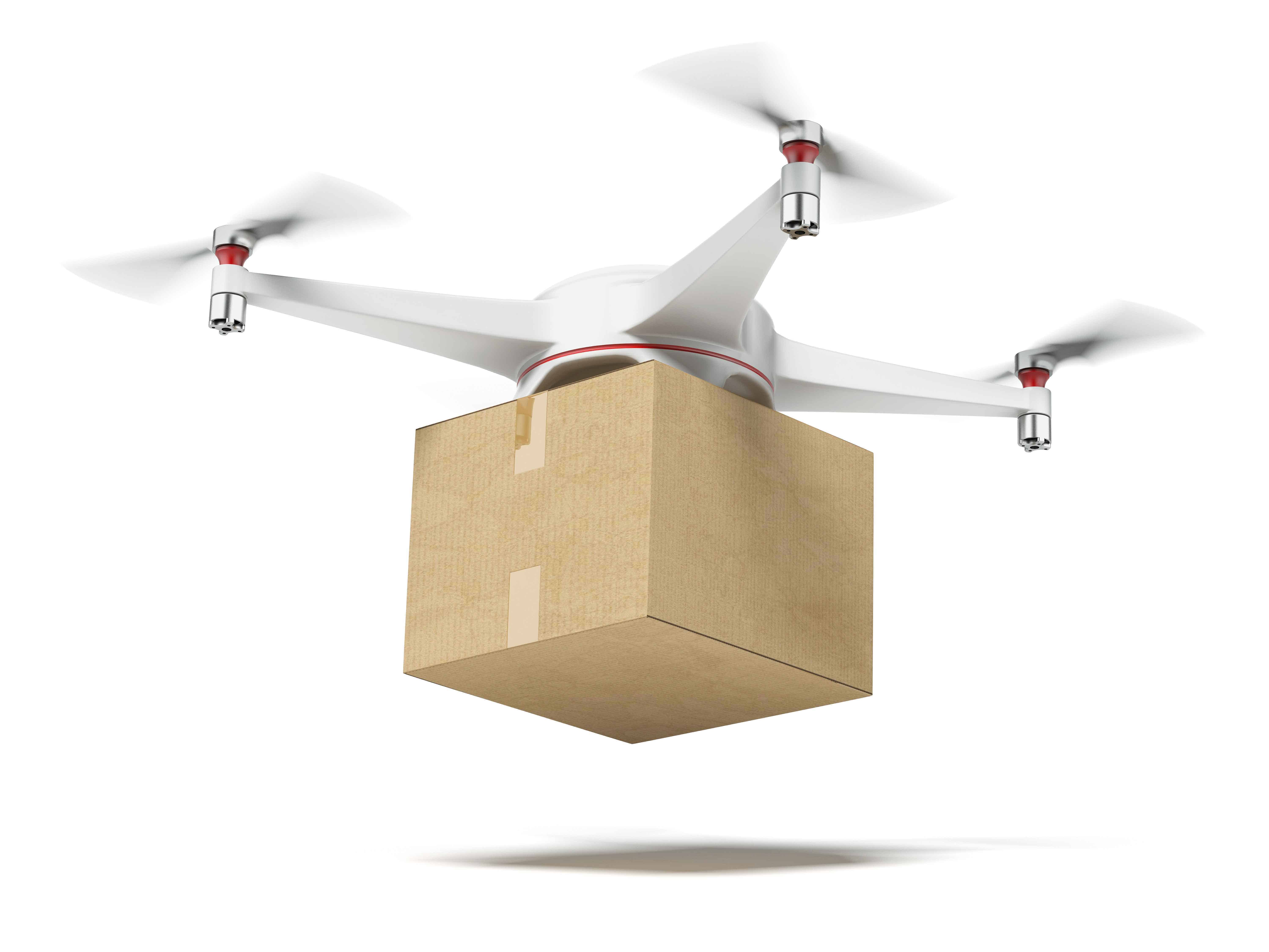 Drone Delivery By The Numbers